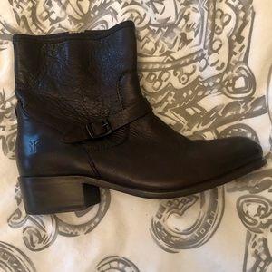 Frye Shoes - Frye Booties Dark Brown